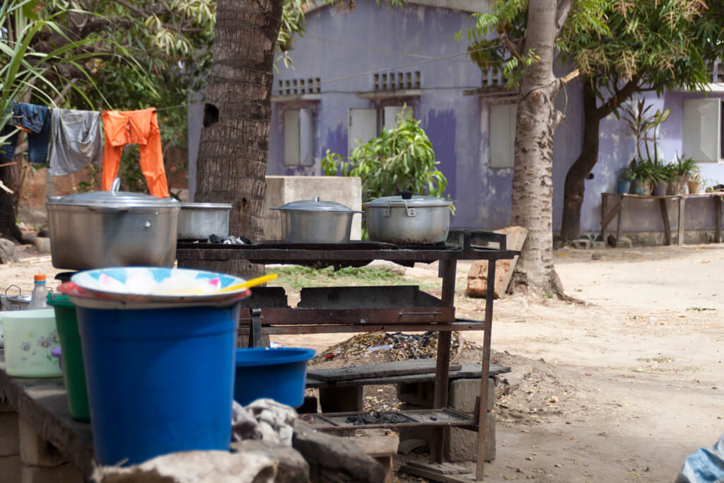Madagaskar hotely Küche