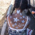 Madagaskar Hautbemalung Sonnencreme