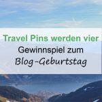 Travel Pins werden 4 - Blog-Geburtstag Gewinnspiel Teil 4