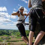 Naturbursch Training Kurs am Leopold-Klettersteig