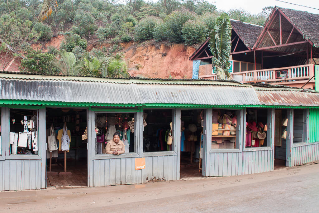 Souvenirshops Andasibe