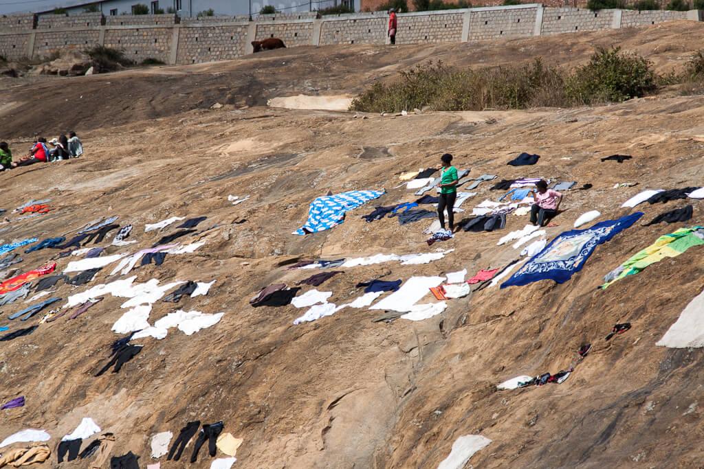 Wäsche waschen Madagaskar