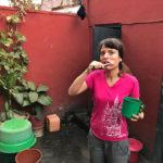 Zähne putzen in Madagaskar