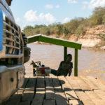 Fähre Fluss Tsiribihina in Madagaskar