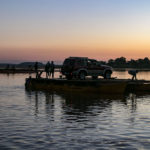 Sonnenuntergang am Fluss Manambolo