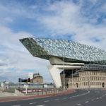 Zaha Hadid neues Hafengebäude in Antwerpen