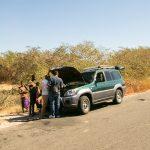 Autopanne im Westen Madagaskars