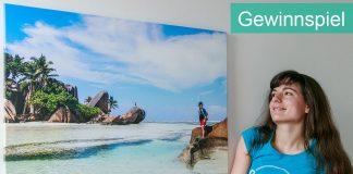 Gewinnspiel: Schönster Moment des Jahres auf Fotoleinwand