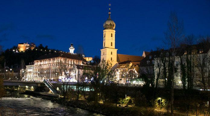 Graz bei Nacht