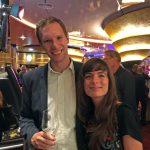 Bei der Wiedereröffnungsfeier im Casino Graz