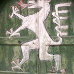 Steirischer Panther im Landhaushof
