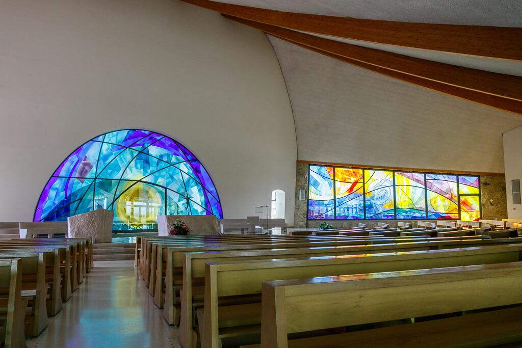 Kirche Maria Theotokos von innen