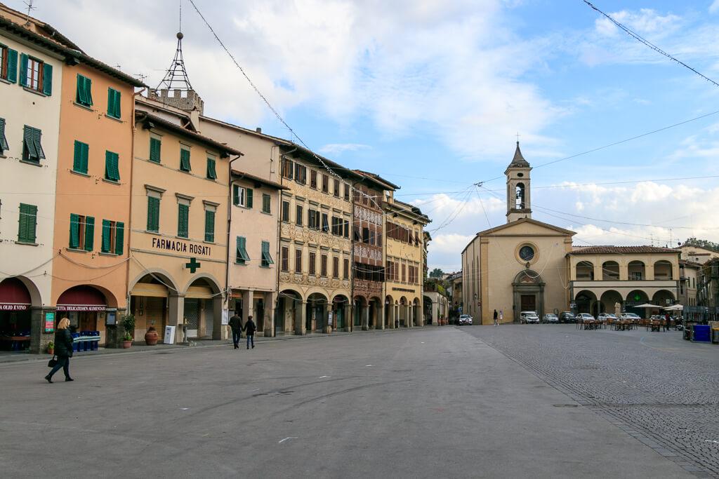 Figline Valdarno Hauptplatz