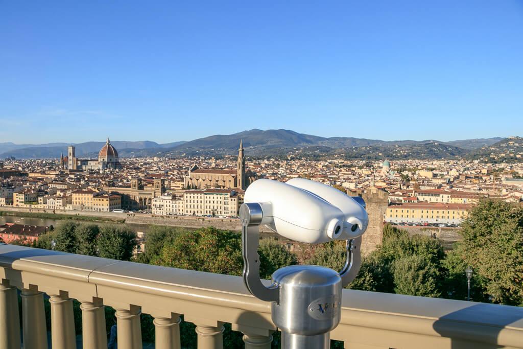 Am Piazzale Michelangelo
