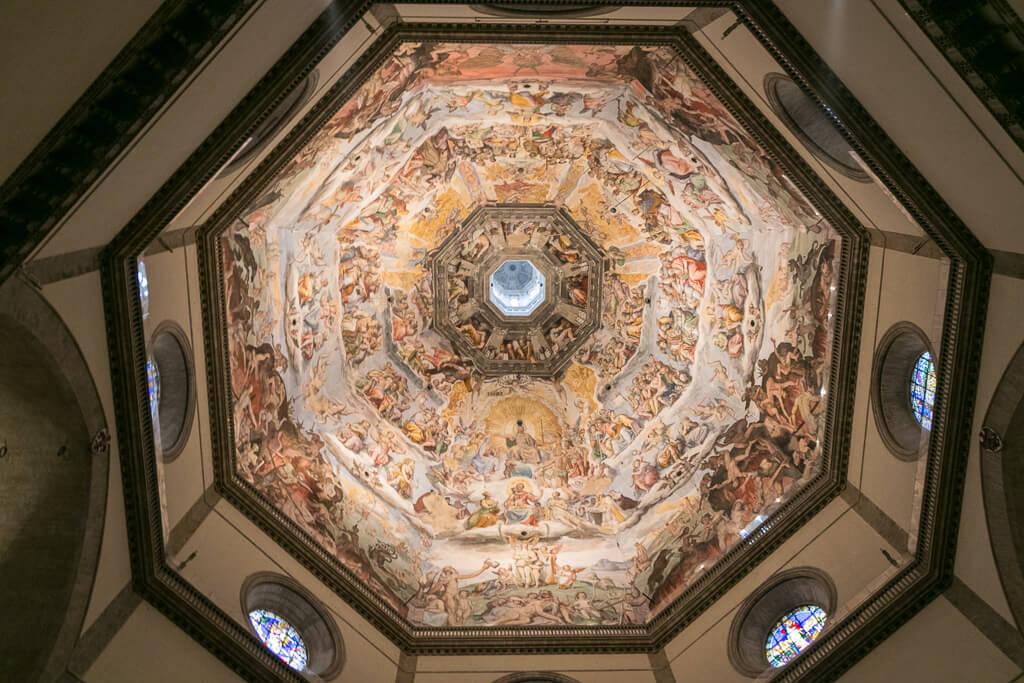 Kuppel von Brunelleschi von innen