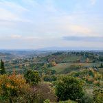Toskana Landschaft rund um San Gimignano