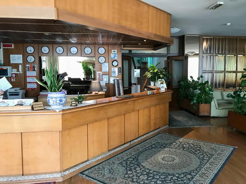 Parkhotel Galileo Toskana Lobby