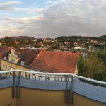 Homestory Travel Pins Ausblick vom Balkon