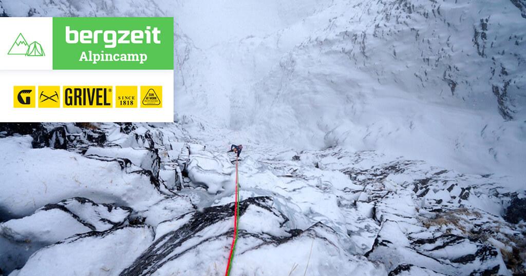Bergzeit Alpincamp mit Grivel