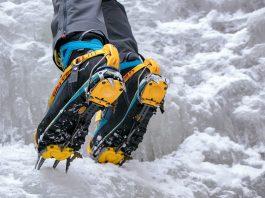 Eisklettern Bergzeit Alpincamp mit Grivel
