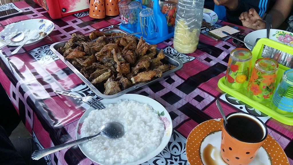 Frühstück Hotely Madagaskar