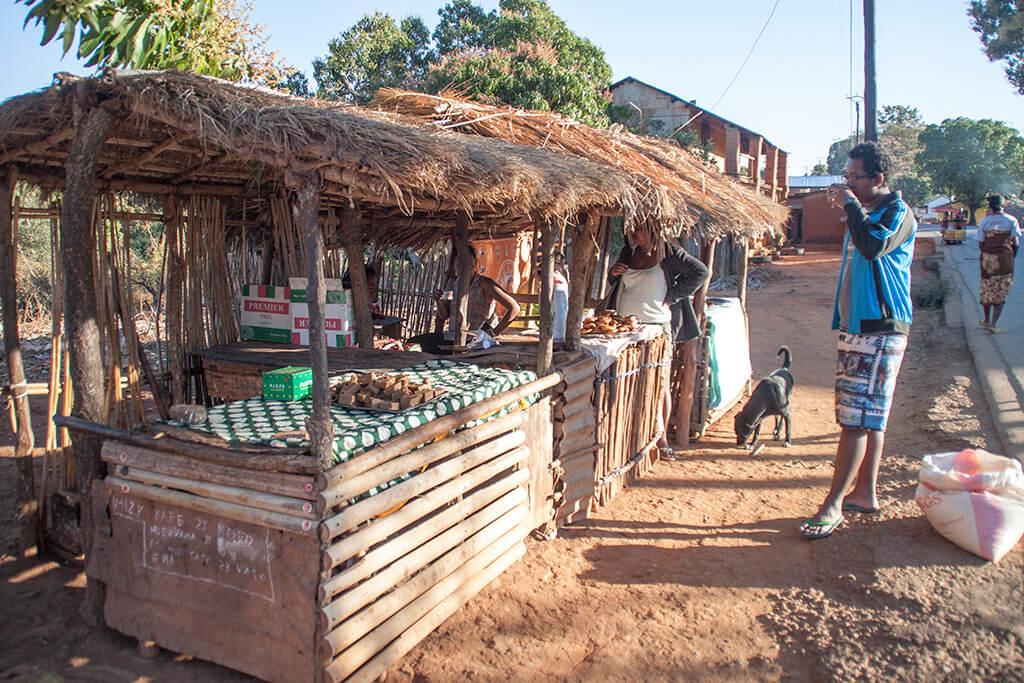Markt Antsiranana Essen