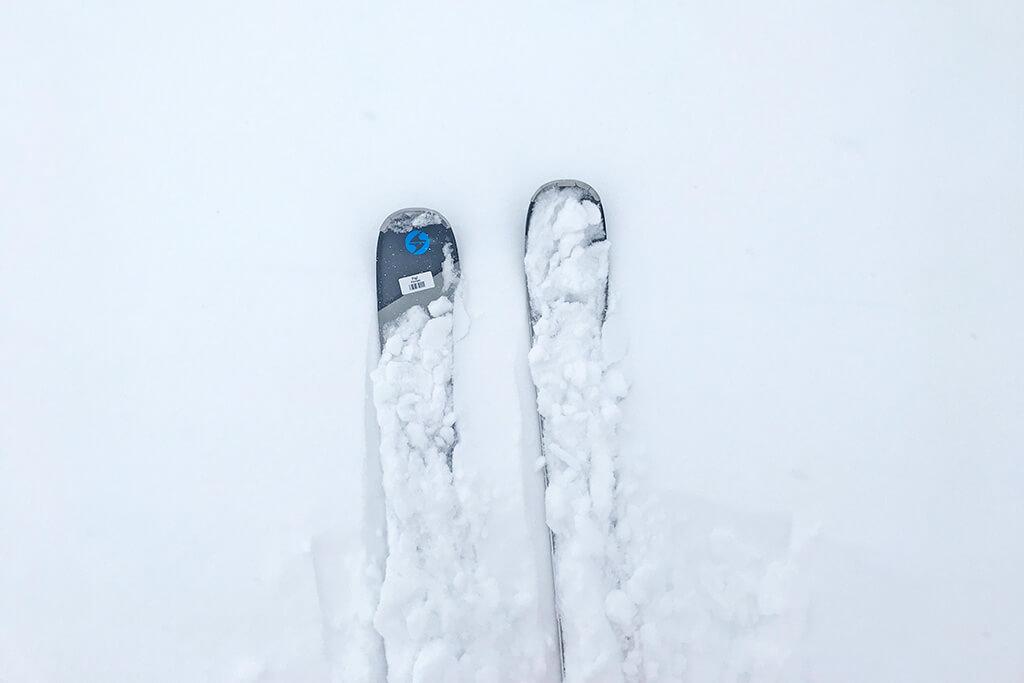 Freeriden in Sportgastein - Skispitzen