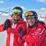 Ski & Yoga mit Sandra Lahnsteiner und Marlene Johannsen