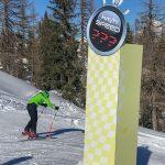 Speed-Messung im Skigebiet