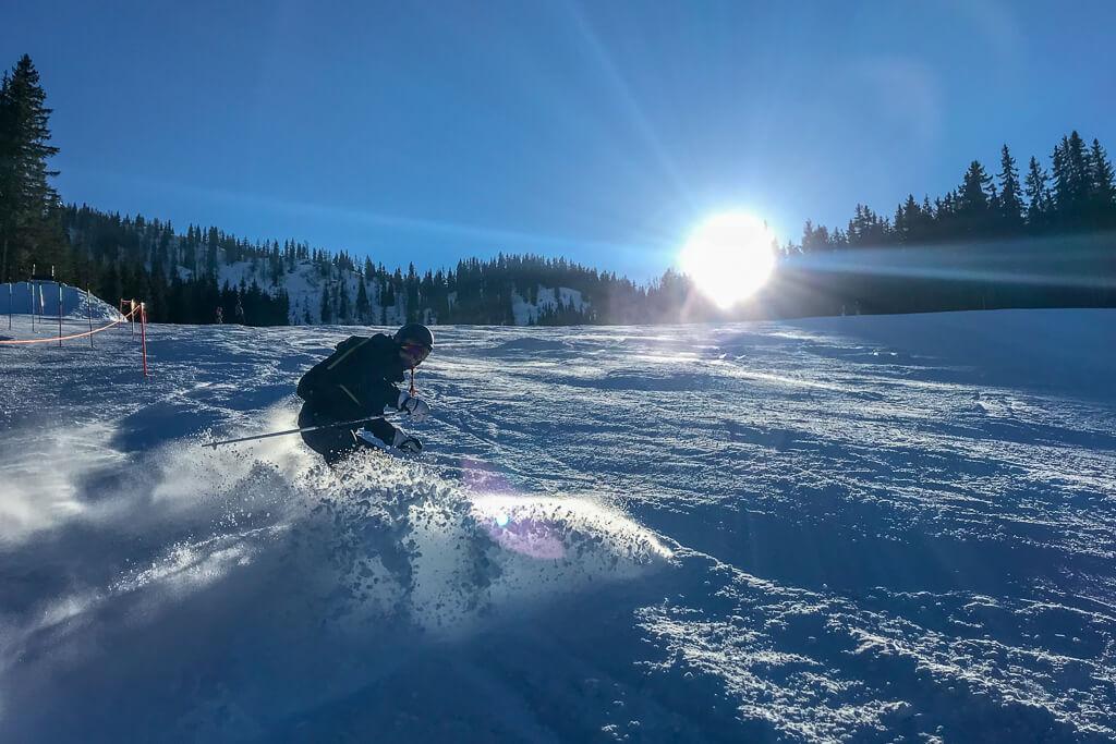 Pures Skivergnügen auf den Bergen Österreichs
