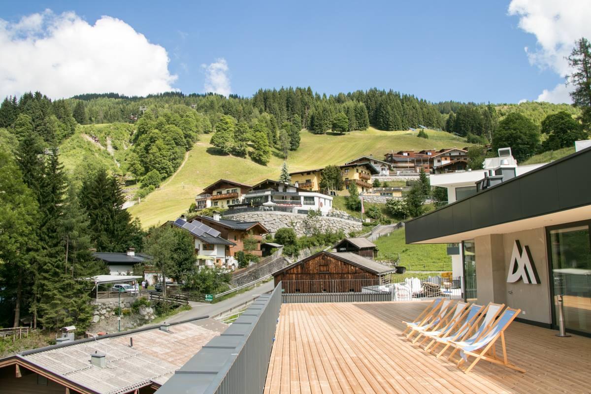 Panorama Dachterrasse ADLER RESORT Hinterglemm