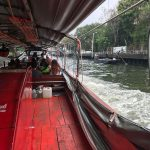 Fahrt mit dem Khlong Boot durch Bangkoks Kanäle