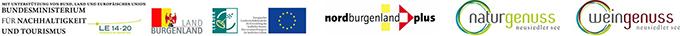 Logoleiste Neusiedler See Card Projekt
