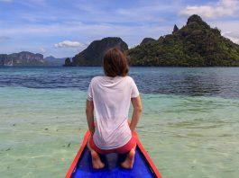 Island Hopping in El Nido auf Palawan