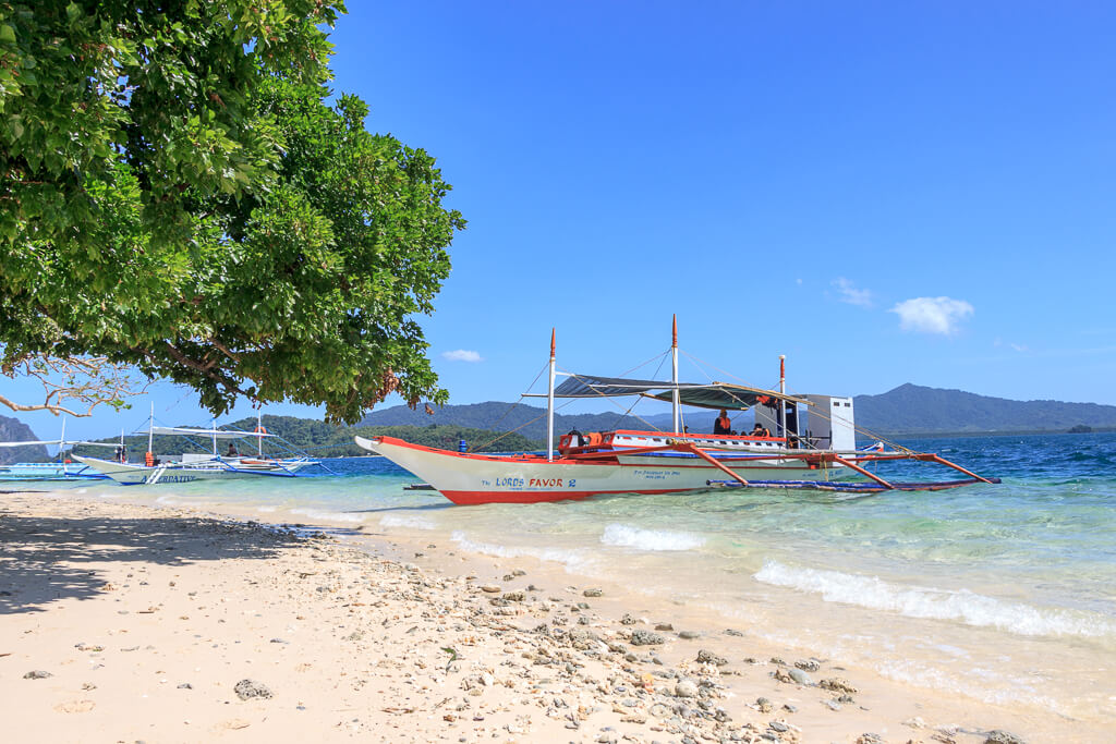 Inselstrand Palawan