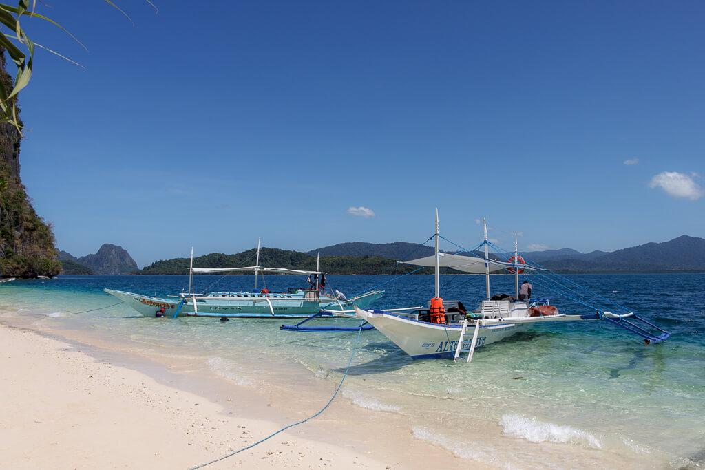 Insel Hüpfen auf Palawan rund um El Nido