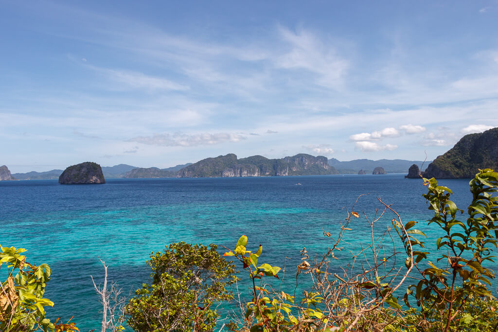 El Nido, Palawan Insel Hüpfen