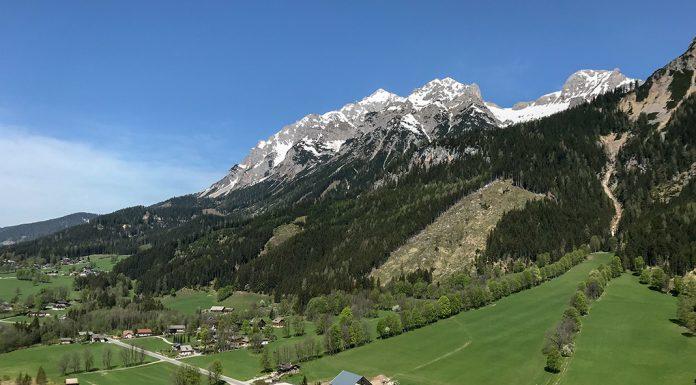 Ramsau am Dachstein im Frühling