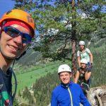Klettersteig Ausstieg am Sattelberg