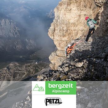 Bergzeit Alpincamp Petzl