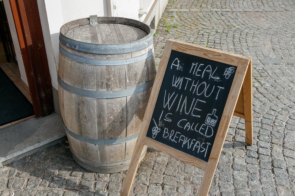 Weinkeller in Maribor