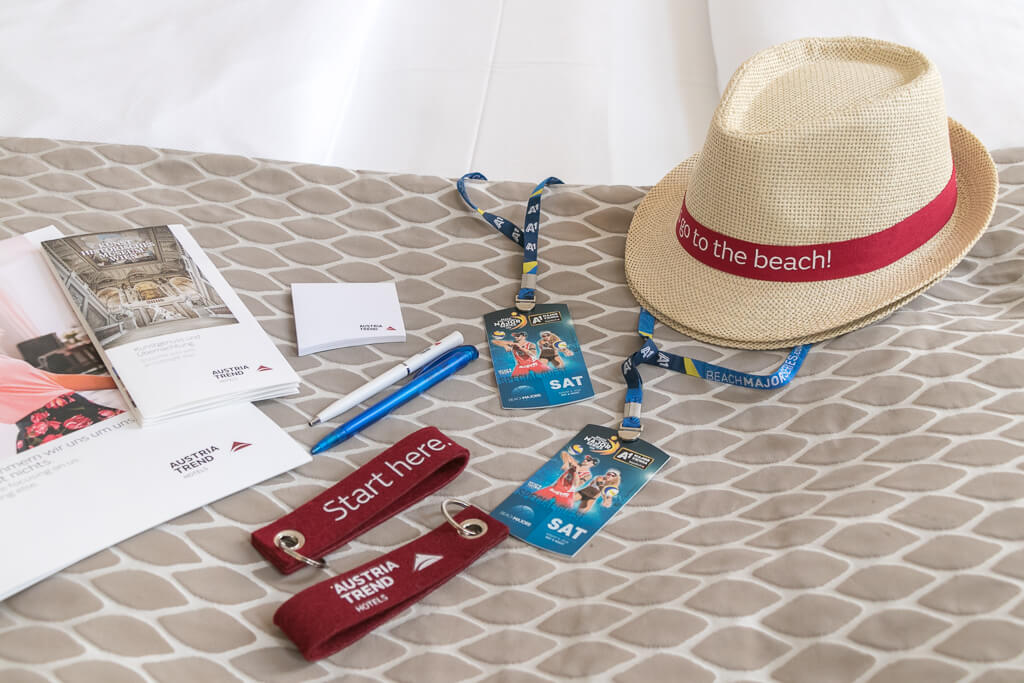 Vienna Major beach package
