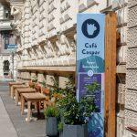 Café Caspar in der Grillparzerstraße 6