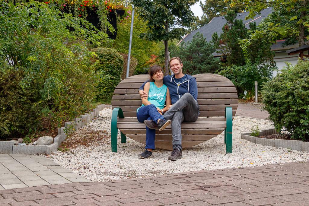 Cori und Flo im Naturel Hoteldorf Schönleitn in Kärnten