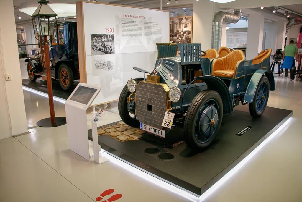 Lohner Porsche Mixte im Fahrtraum Mattsee