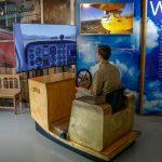 Flugzeug Simulator im Fahrtraum Mattsee