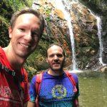 Zeit für ein Selfie am Salto del Angel Wasserfall
