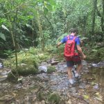 Flusswanderung zum Wasserfall Chorros de las Campanas