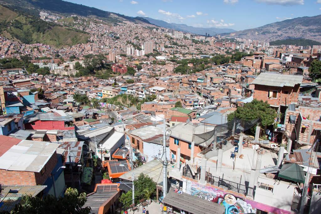 Comuna 13 Escaleras