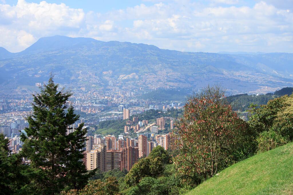 Mirador las Palmas Medellin Aussicht